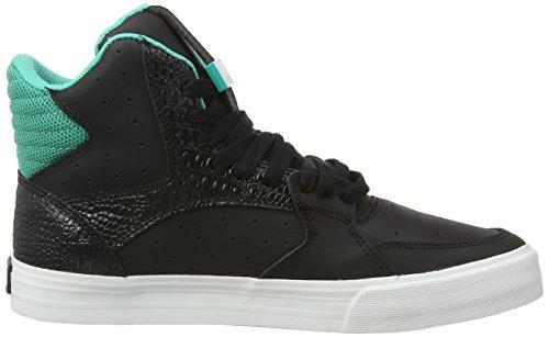 Unisex Supra Atlantis Vaider Nero Off Blk Adulto Alte Schwarz White Black 3000 Sneaker axIwrqa