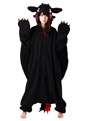 Toothless the Dragon Kigurumi (Dragon Costumes Adults)