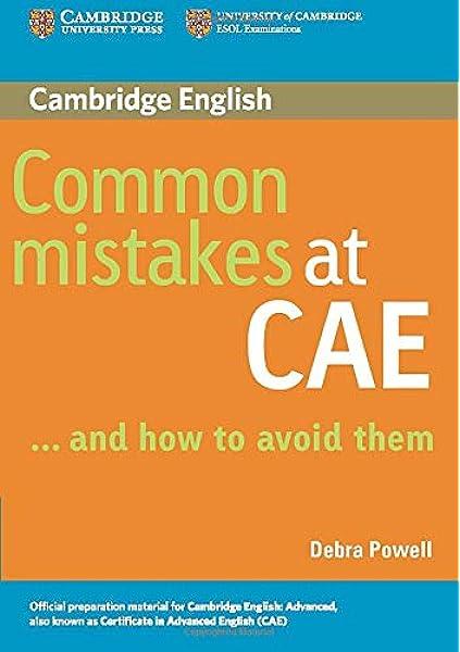 Common Mistakes at CAE… and How to Avoid Them.: Amazon.es: Powell, Debra: Libros en idiomas extranjeros