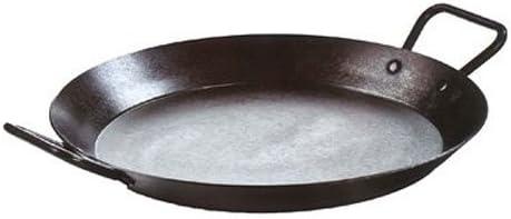 Lodge CRS15 Carbon Steel Skillet, Pre-Seasoned, 15-inch,Black