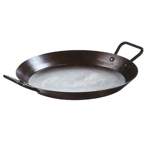 Lodge CRS15 Carbon Steel Skillet, Pre-Seasoned, 15-inch,Black ()