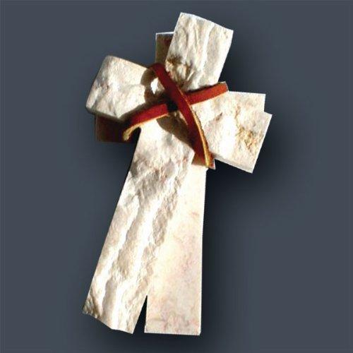 "Price comparison product image 4"" Jerusalem Stone Comfort Cross (Two Pieces)"