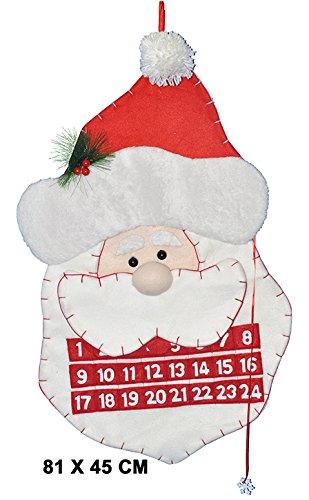 MaRécréation Calendrier Père Noël de L'Avent et Ses 48 Billes, KZ-LXUT-HJTU Divers