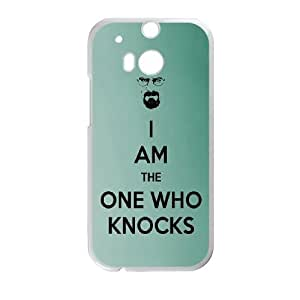 Im The One Who Knocks HTC One M8 Cell Phone Case White Delicate gift JIS_366076