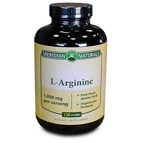 L-Arginine 1800mg, 120 kcaps