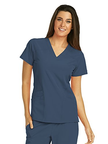 - Barco One 5106 V-Neck Top Steel M