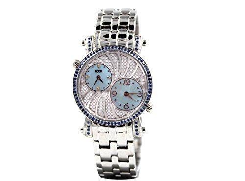 Effy Diamond Blue Sapphire 0.92 tcw Unisex Luxury New Unique Brand Exotic - Watch Effy