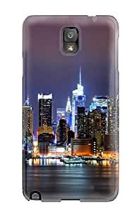 First-class Case Cover For Galaxy Note 3 Dual Protection Cover City