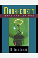 Management: Ideas and Actions (Advances in Contemporary) by Duncan W. Jack (1999-01-28) Paperback Paperback