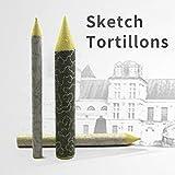 Drawing Blending Stumps- Art Sets - 6Pcs/Set Blending Smudge Tortillon Stump Sketch Paper Pen Rice Paper Wiping Pen Art Painting Supplies Painting Pen Tool Pastel