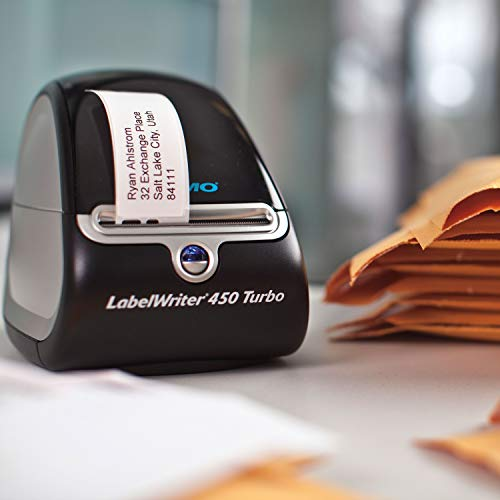 DYMO Label Printer | LabelWriter 450 Turbo Direct Thermal