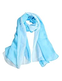 Scarf Shawl Driving Sunscreen Beach Towel Print Gradient Color Seaside Travel Big Shawl Beach Cover Up Suitable for All Occasions (Color : C3, Size : 180 * 110cm)