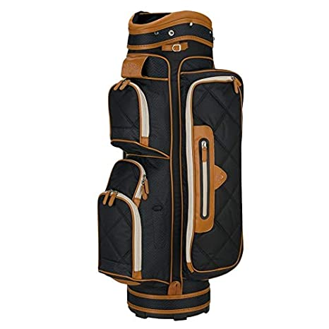 9676bbe0b8b7 Amazon.com : Callaway 2015 Up Town Golf Cart Bag, Black/Brown ...
