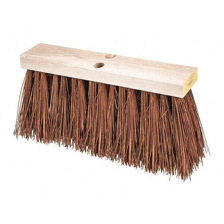 16' Street Broom - Street Broom, Hvy Dty, Palmyra/Bass, 16'