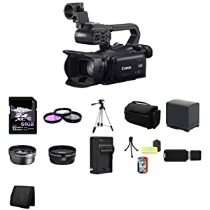 Canon XA20 Professional HD Camcorder 64GB Package 5