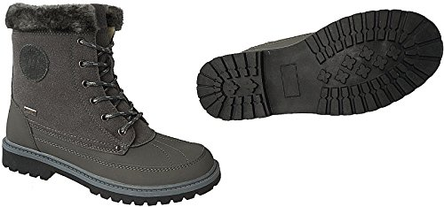 Winter Damen Stiefel Schuhe Boots gefüttert Stiefelette gr.36 - 41 art.nr.122 d.grau