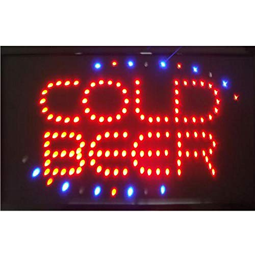 CHENXI BAR Pub Beer LED Neon Light Sign home decor shop signs of led size 48 X 25 CM indoor use (48 X 25 CM, -