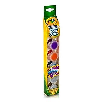 Amazon.com: Crayola - Pintura para niños lavable de 6 ...