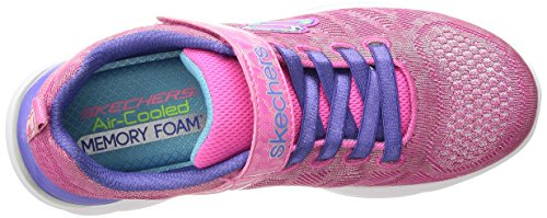 Fille Shimmer Baskets Hot Pink Kicks Multi Dance Skechers Quick wq4UXxEap
