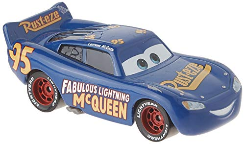 (Disney Pixar Cars 3 Die-cast Fabulous Lightning McQueen Vehicle)