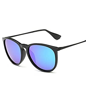 TR90 glasses light polarized sunglasses Retro Sunglasses tide men and women with sunglasses,B12-4-2004,Sand black box white mercury