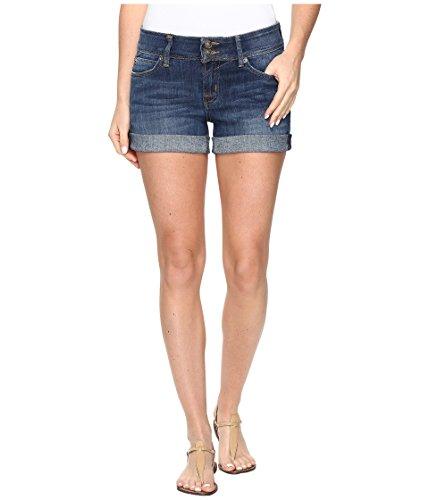 目的符号先住民[ハドソン] Hudson レディース Croxley Mid Thigh Jean Shorts in Adventageous パンツ [並行輸入品]