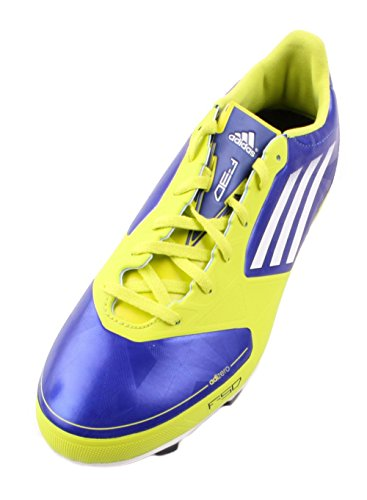 huge selection of 28f29 45957 Adidas Adizero F30 Trx Fg W Chaussures De Football Bleu   Blanc   Jaune  Pour Femme