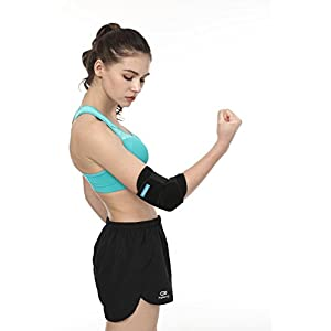 Elbow Brace Compression Support Sleeve, Adjustable Elbow Support for Women Men, Workouts, Golfers and Tennis Elbow, Arthritis, Tendonitis – Reduce Joint Pain