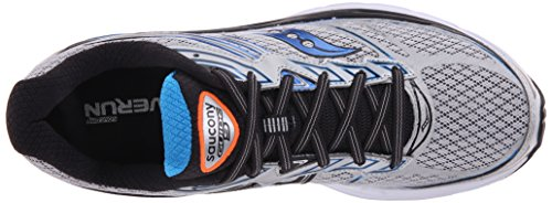 buy cheap Inexpensive Saucony Men's Guide 9 Running Shoe Silver/Blue/Orange affordable cheap price outlet pictures deals for sale 2014 for sale kdG8geyAX