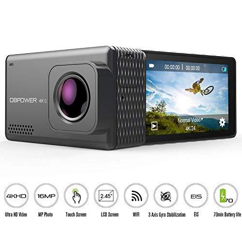 Dbpower Waterproof Action Camera - 6