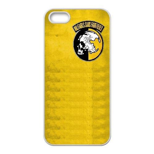 Militaires Sans Frontieres Logo 33 333 coque iPhone 4 4S Housse Blanc téléphone portable couverture de cas coque EOKXLKNBC25714