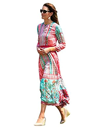 Anita Dongre The Gulrukh Tunic Dress: Amazon co uk: Clothing