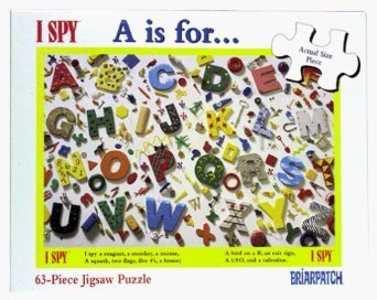 - I SPY A is For Jigsaw Puzzle 63pc