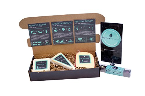 Perfect Partners Cheese and Chocolate for White Wine Pairing Gift Set, 26.4 Ounce (Pack of 2)