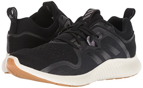 adidas Women's Edgebounce Running Shoe Black/Night Metallic, 5.5 M US by adidas (Image #5)