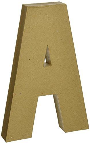 Darice Paper Mache Letter A 12Inch