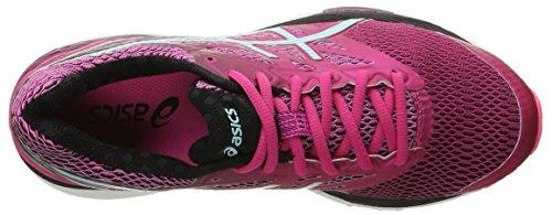 Asics Gel-Cumulus 18Zapatilla de Running de la mujer Sport Pink/Aruba Blue/Black