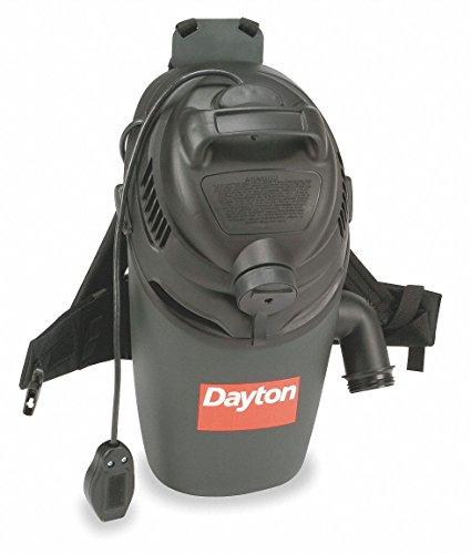 4 gal. Backpack Vacuum, 115 cfm, 12 Amps, Standard Filter Type