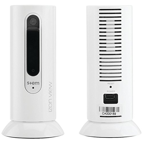 IZON WRM-WA3-00 Stem View Wi-Fi Camera (Single), White