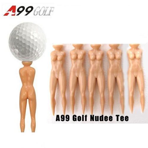 セクシーなLady Nudeeゴルフティー10pcs Great Gift for Male Golfer父の日   B00JLB1RTM