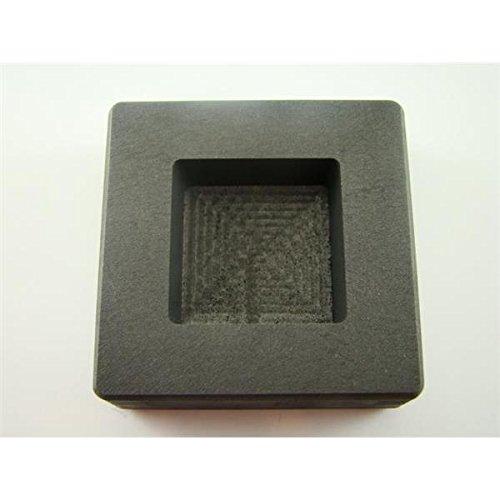 Make Your Own Gold Bars 5 oz Square Mold 5 oz Gold 3 oz Silver Bar High Density Graphite Square Slab Mold Loaf Copper