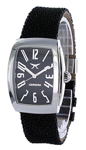 Carrera Wrist Watch (CARRERA Black Leather Watch-cw57642.103011)