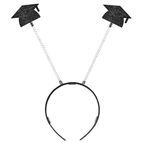amscan Grad Cap Head Bopper | Party Favor -