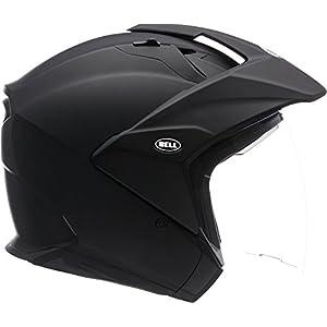 Bell Mag-9 Flip-Up Motorcycle Helmet (Solid Matte Black, Medium)
