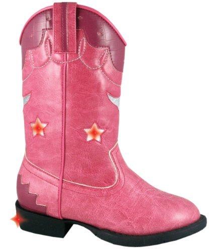 Kids Austin Lights Western Boot 11.5M,Pink