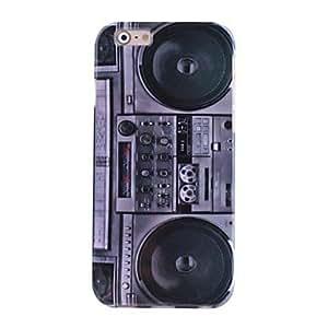 ZXM- hi-q patrón calcomanías agua radio de época TPU caso suave para el iPhone6
