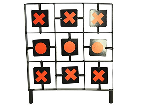 Gamo 62112211554 Tic-Tac-Toe Air Gun Spinner Target by Gamo