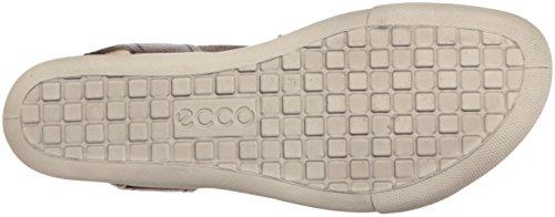 ECCO 248223, Sandalias Mujer Marrón (50533 Licorice/Powder)