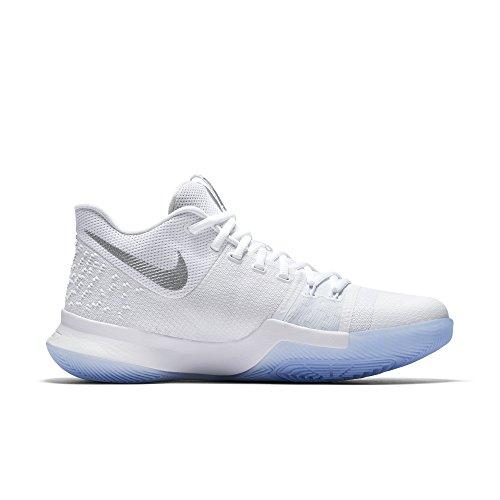 """Nike Kyrie Irving 3 """"chrome"""" Nba Boston Celtics, Schoenen Herren Wit / Chrome"""