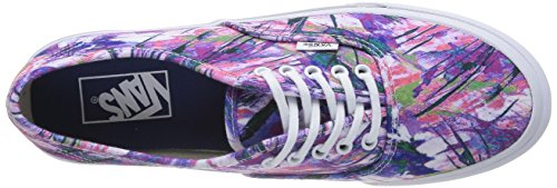 Sneakers Low Unisex Multicolor Top Púrpura Slim Vans Authentic Adultos pIwYxazwq